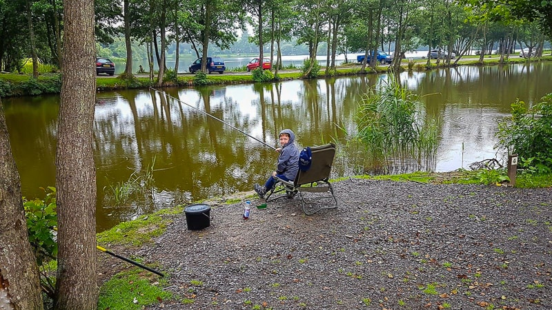 Fishing at Wyreside Lakes